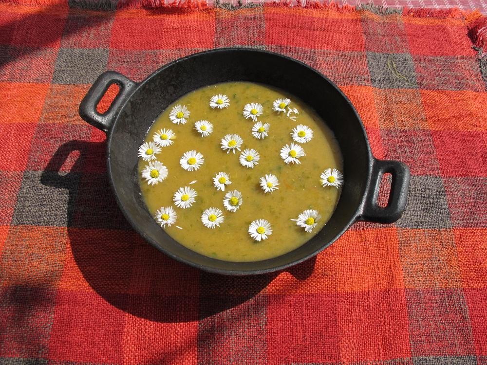 Zuppa di Margheritha – Margrietensoep
