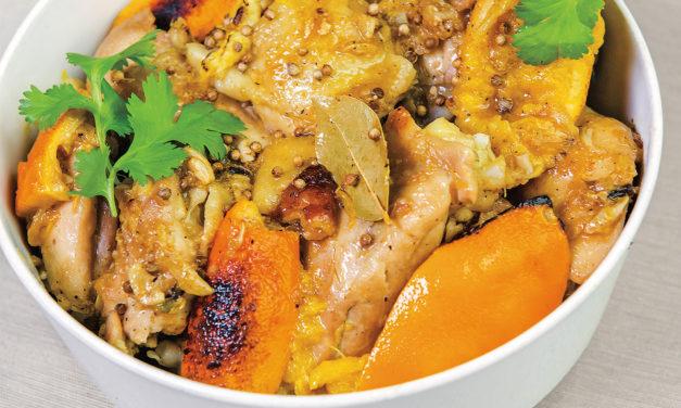 Pollo con arancio e zenzero – Kip met sinaasappel en gember