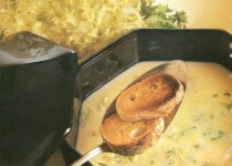 Zuppa di insalata riccia – soep van krulsla