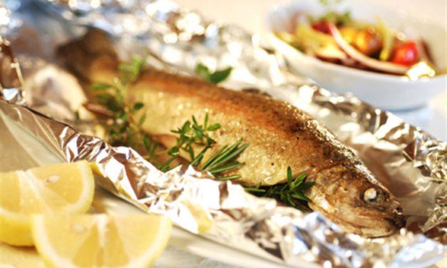 Pesce al cartoccio – Vis in een papieren zak