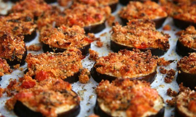 Melanzane gratinate – Gegratineerde aubergines