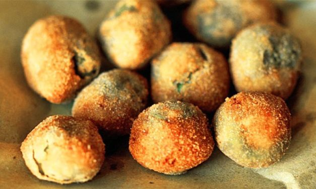 Olive all'ascolana – Olijven uit Ascoli Piceno