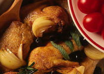 Pollo alla pugliese - Kip uit Puglia