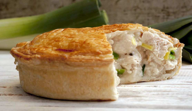 Pie van kip – Chicken pie
