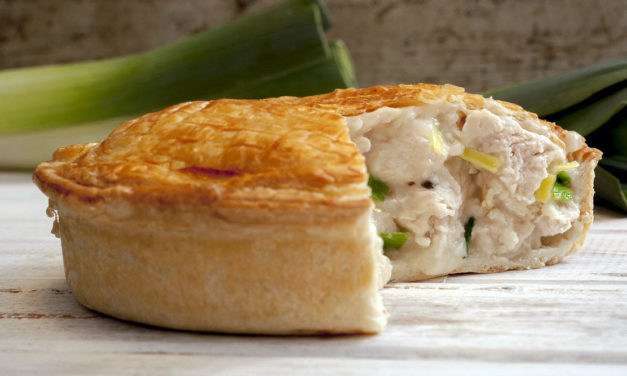 Pie van kip – Chicken pie