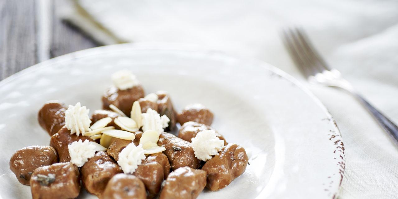 Gnocchi di farina di castagne – Noedeltjes van kastanjemeel