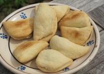 fagottini ripieni di cotognata - koekjes gevuld met kweeperengelei