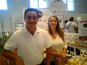 Bakker Giuseppe Allegrini  & dochter