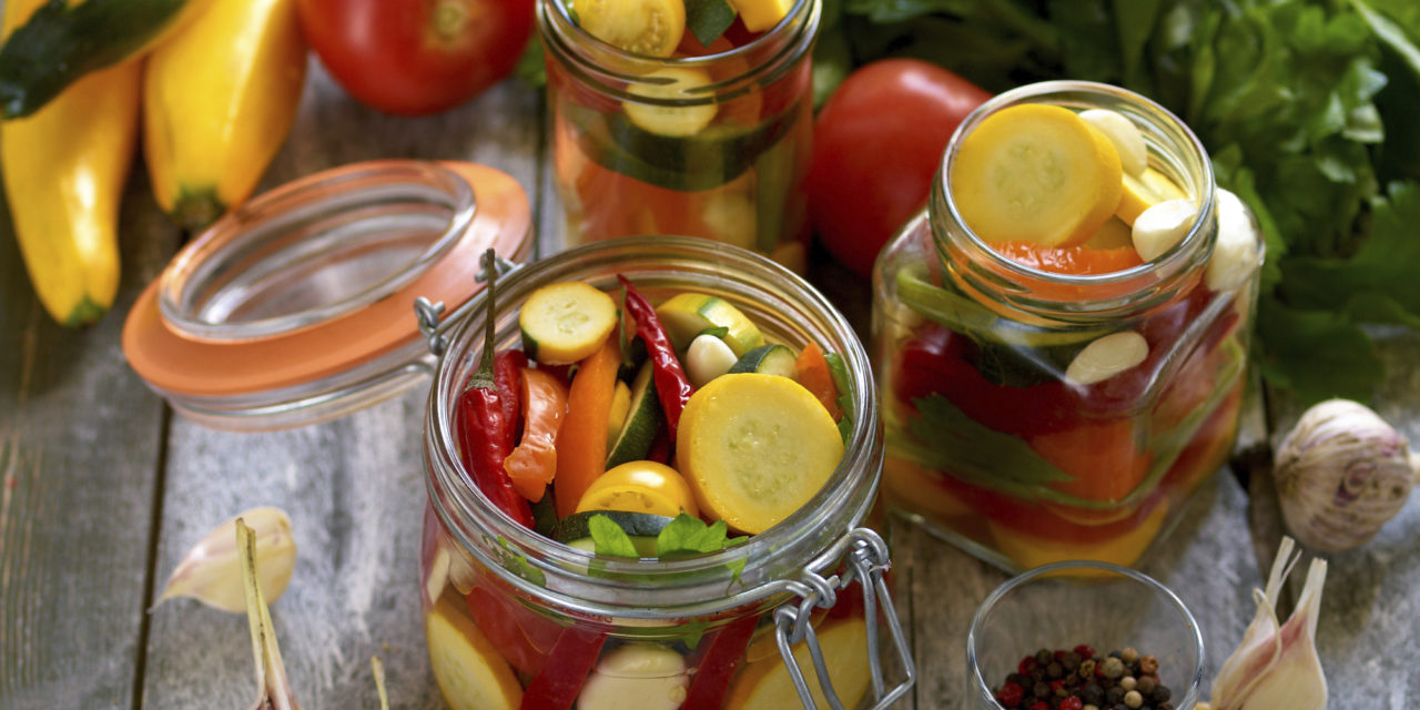 Gardiniera sott'aceto – Ingemaakte groenten
