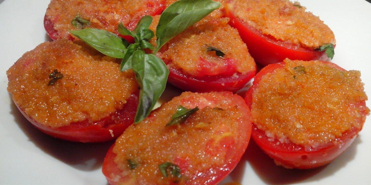 Pomodori ripieni alla siciliana – Gevulde tomaten op z'n Siciliaans