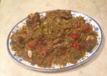 Pignata di pecora - Stoofschotel met schapenvlees