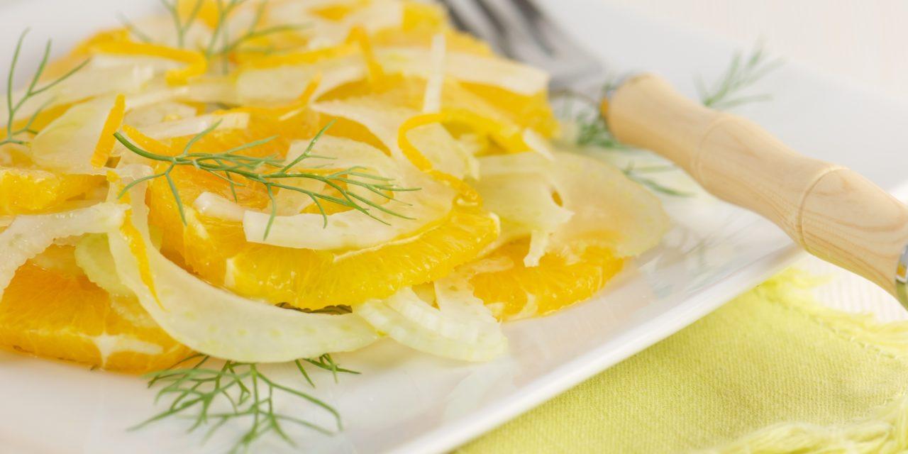 Insalata di finocchi e arance – Venkelsalade met sinaasappel