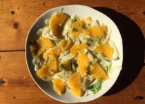 insalata di finocchi e arance - venkelsalade met sinaasappel