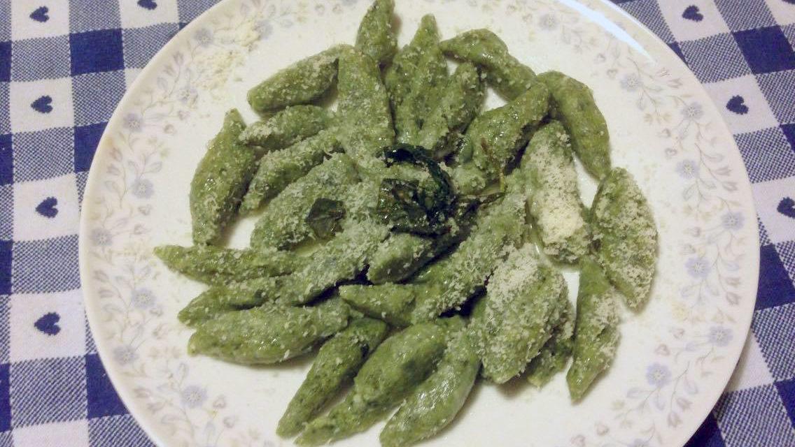 Gnocchi di ricotta e spinaci – Noedeltjes van ricotta en spinazie