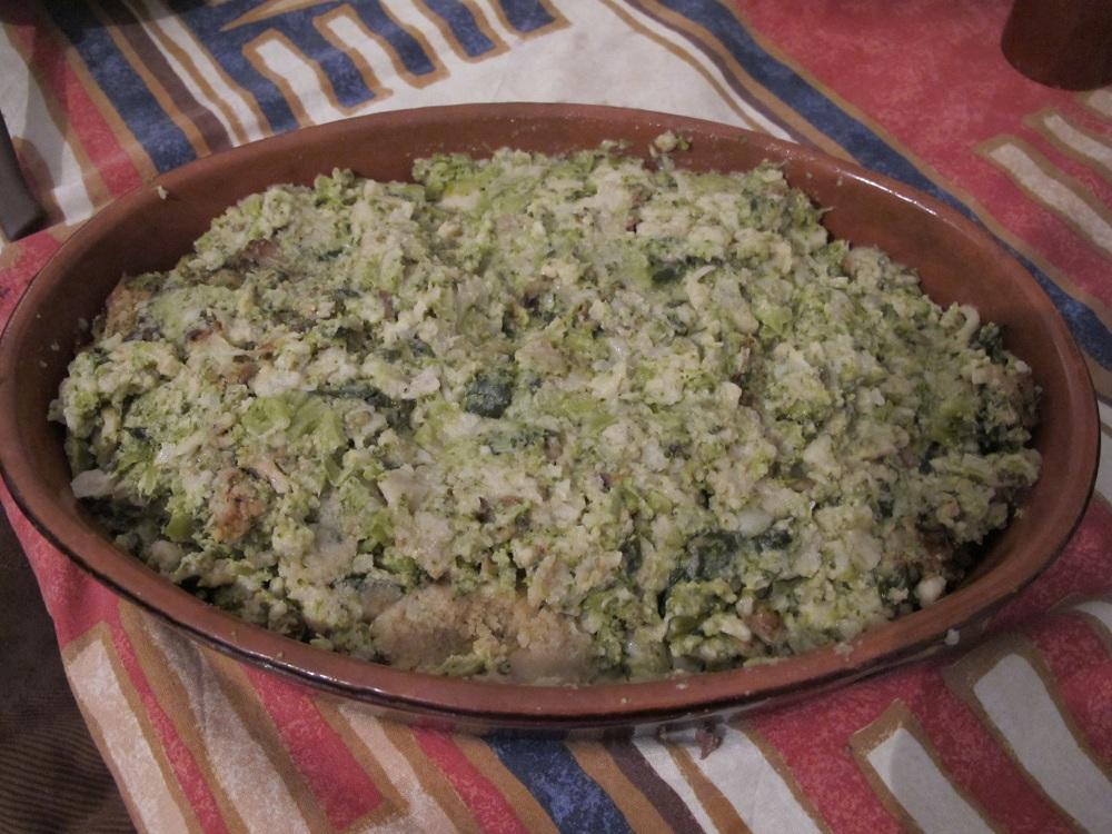 Sformato di verdure – Groenteschotel uit de oven