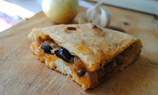 Focaccia di cipolle Pugliese – Focaccia gevuld met uien