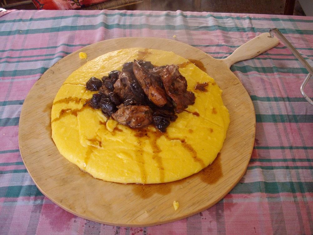 Coniglio con le prugne – Konijn met pruimen