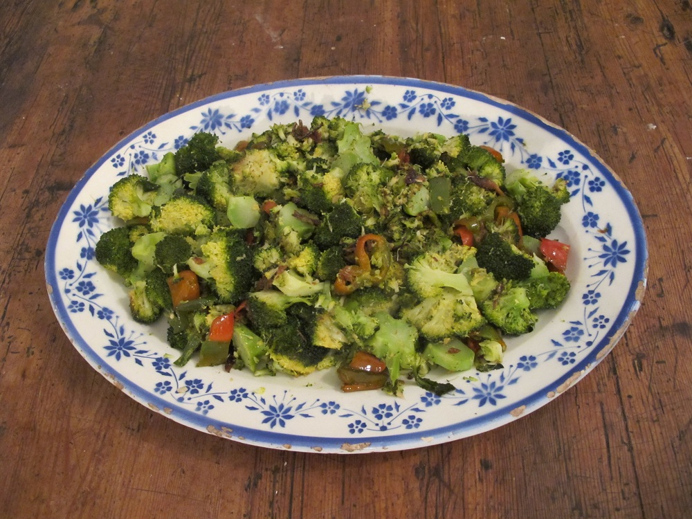 Broccolo al peperoncino – Gepeperde broccoli