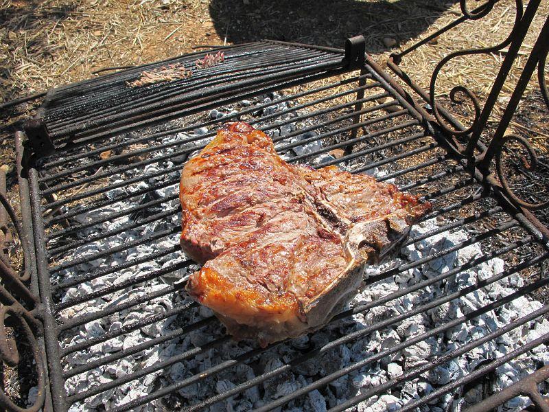 Bistecca alla Fiorentina -T-bone steak