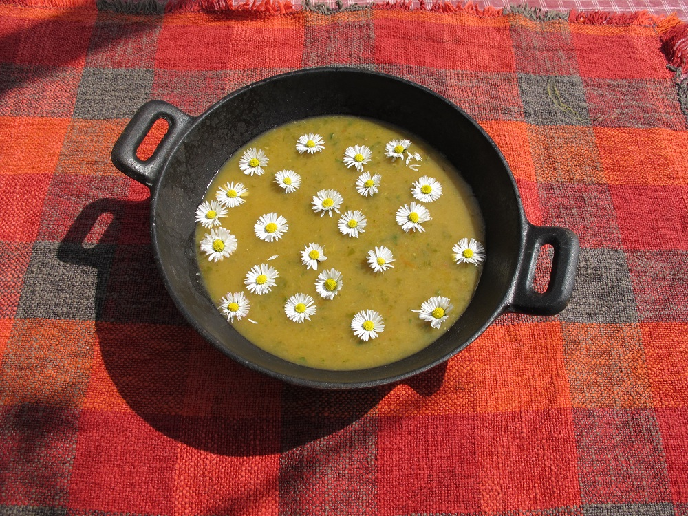 Zuppa di Margheritha – Margrietensoep