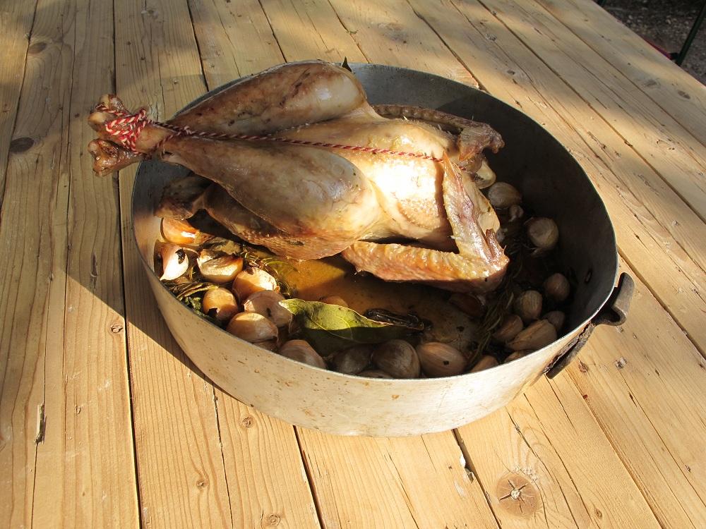 Pollo ai quaranta spicchi d'aglio – Kip met veertig teentjes knoflook