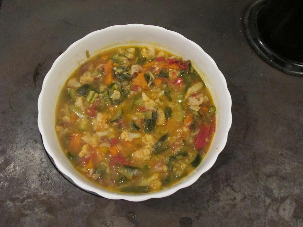 Minestrone alla contadina – Boeren groentesoep