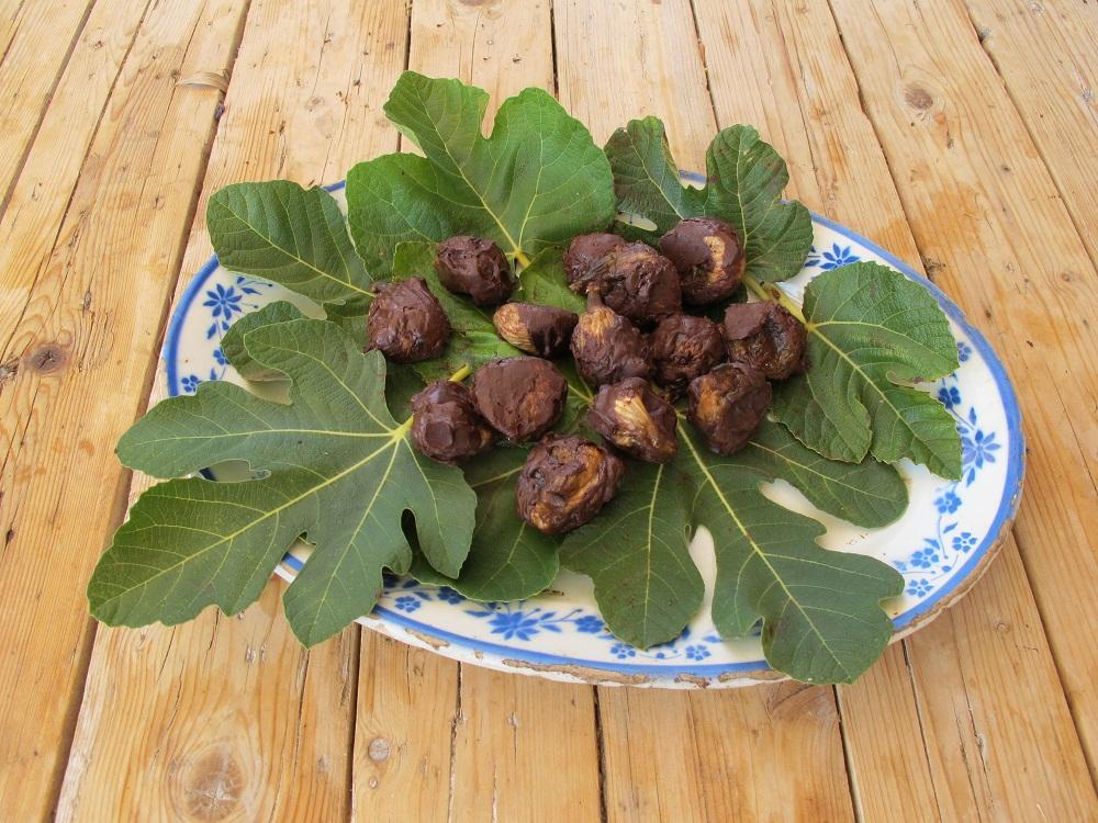 Fichi al rhum e cioccolato – Vijgen met rum en chocola