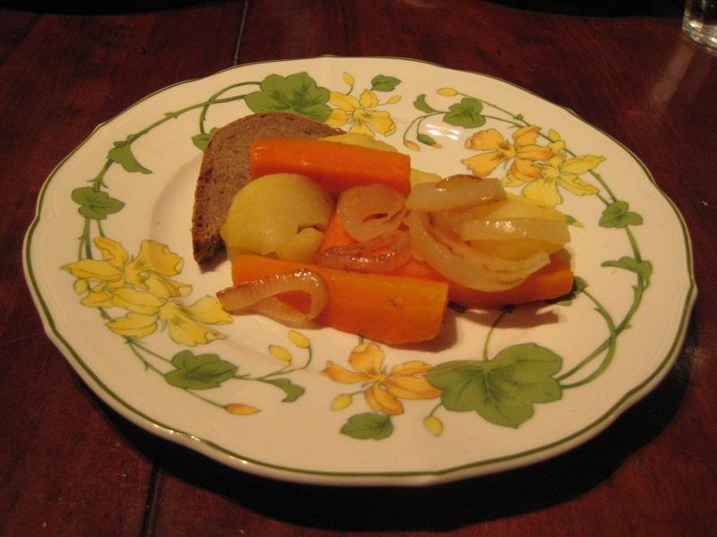 Wortels met appel (een recept uit het Rijnland)