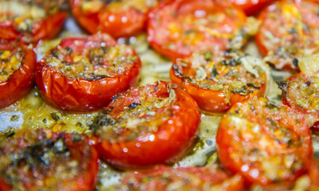 Pomodori alla pugliese –  Pugliese tomaten
