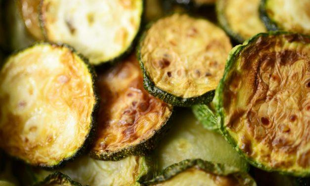 Zucchine fritte – Gefrituurde courgettes