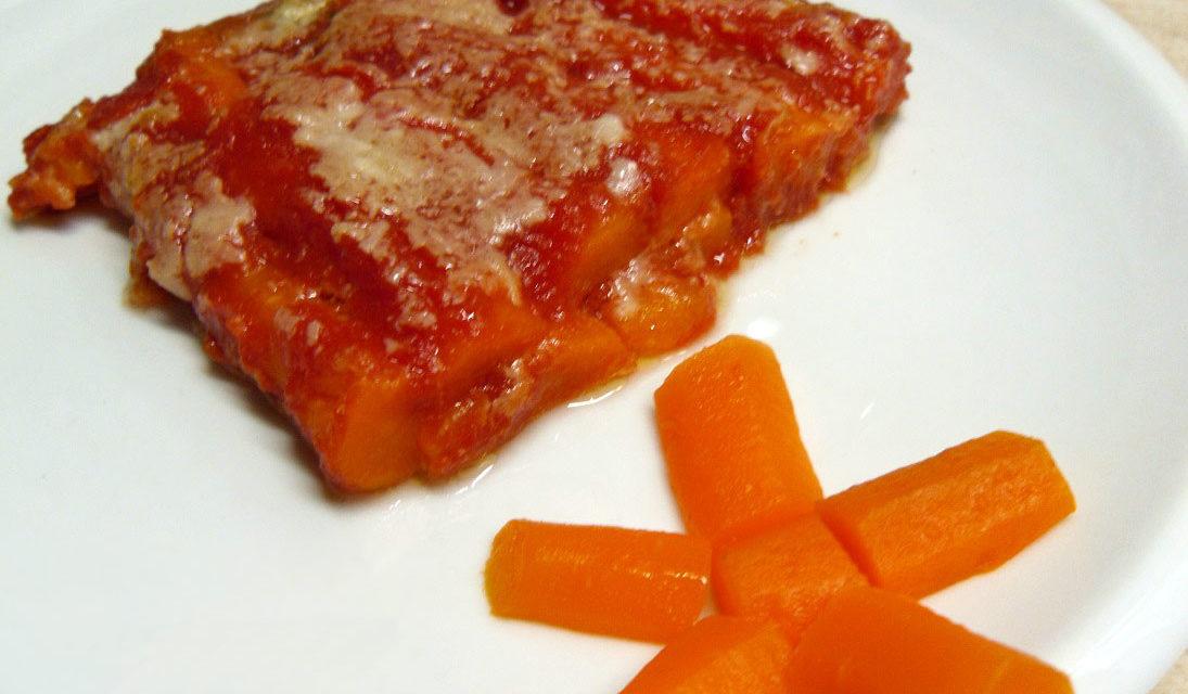 Carote alla parmigiana – Wortel met Parmezaanse kaas