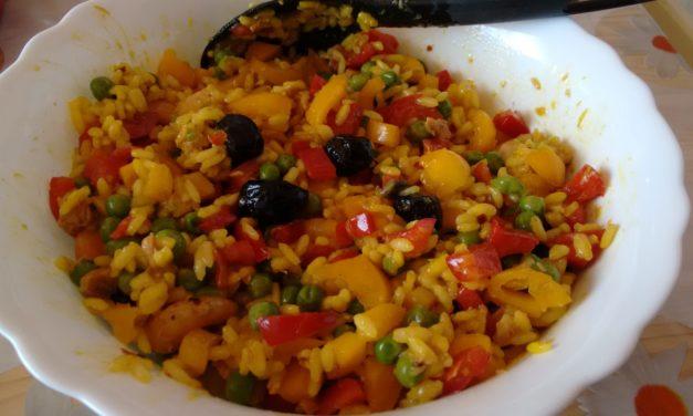 Insalata di riso esotico – Exotische rijstsalade