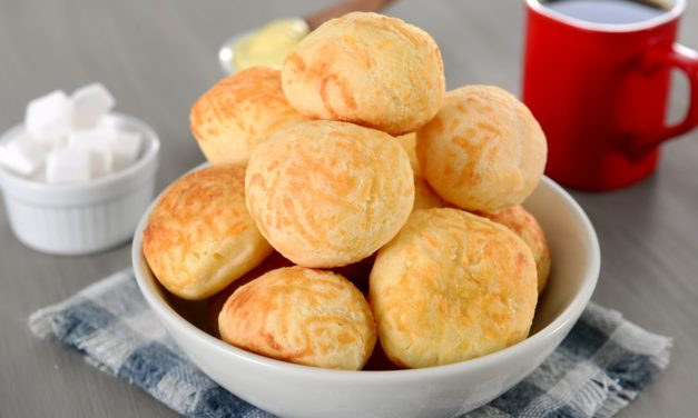 Pão de queijo – Braziliaanse kaasbroodjes