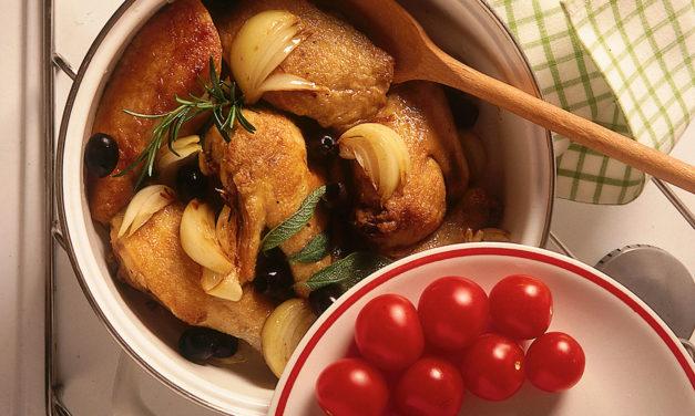 Pollo alla pugliese – Kip uit Puglia