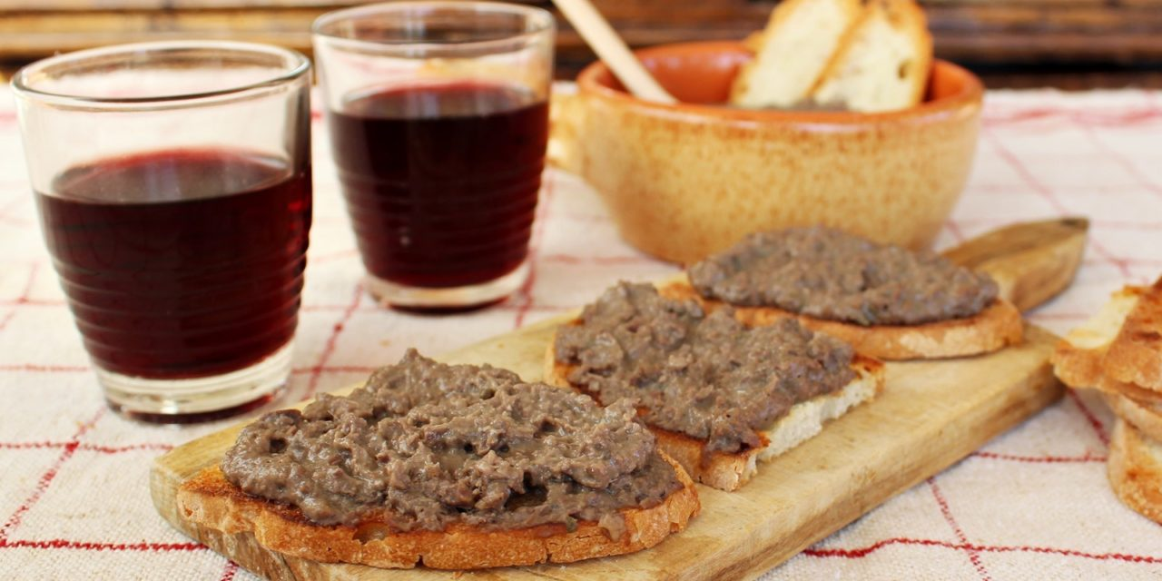 Crostini di fegatini – Kippenlevertoastjes