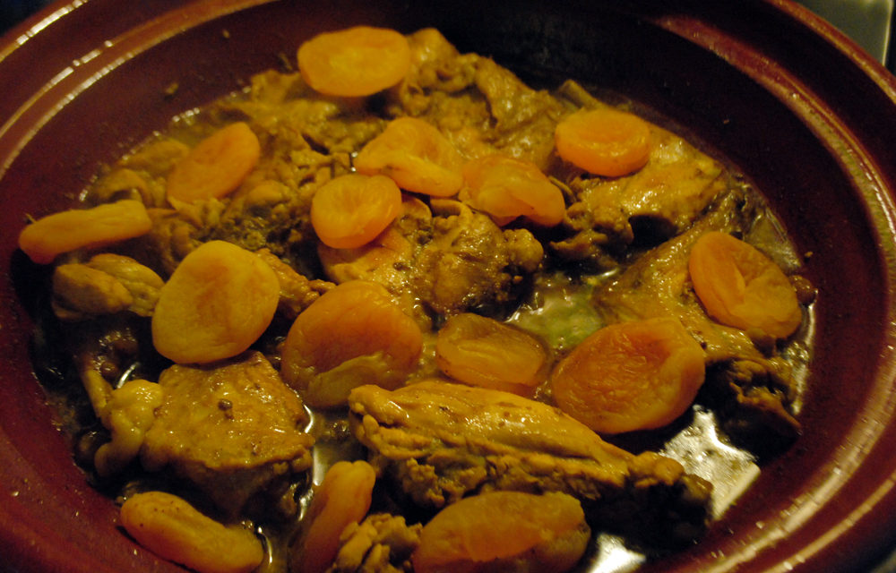 Tajine di Coniglio con Albicocche Secche – Tajine van konijn met gedroogde abrikozen