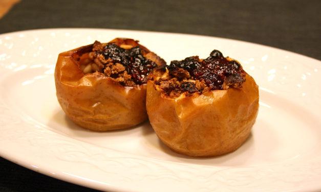 Mele ripiene di frutta secca e noci – Gevulde appels met gedroogd fruit en noten