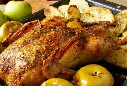 Anatra con crauti e mele – Eend met zuurkool en appel