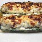 Zucchine Ripiene e Gratinate con Carne e Besciamella – Gevulde en gegratineerde courgettes met gehakt en bechamel