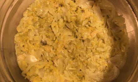 crauti fatti in casa – zelfgemaakte zuurkool
