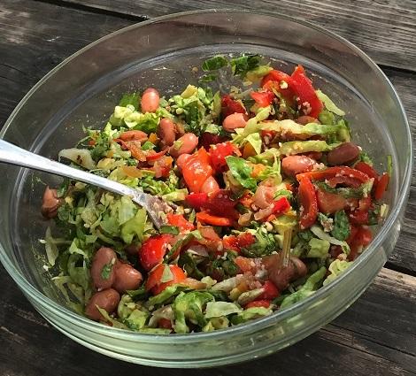Cardio-insalata – Goed voor je hart sla